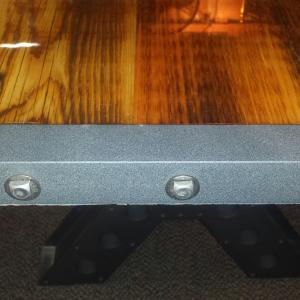 Lazy K DiningConference Tables - Wood and metal conference table